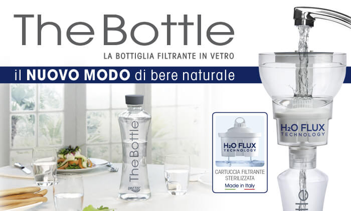 bottiglia filtrante acqua the bottle