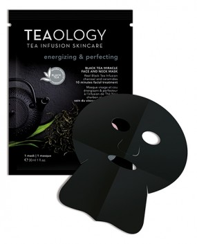 Black Tea-Miracle Face And Neck Mask Energizing & Perfecting