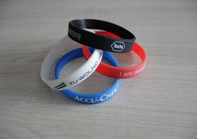 Bracelets de silicone Made in Eu
