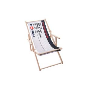 Deckchairs Digital Print