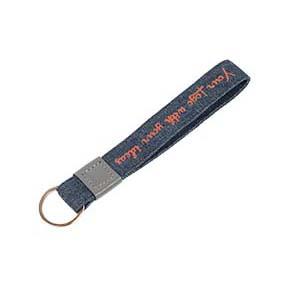 Porte-clés en denim jeans