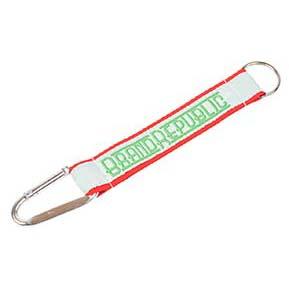 Keychain 2 Hooks 2 in 1 Woven
