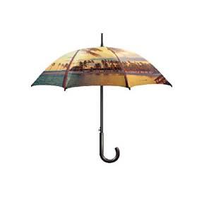 Paraguas mango manual curvado 104 cm