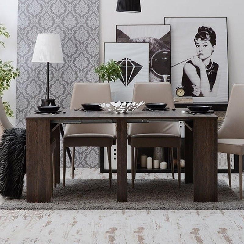 Tavolo consolle allungabile fino a 3 metri andromeda for Consolle tavolo