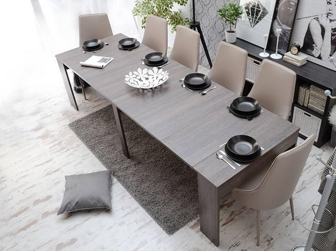 tavolo consolle allungabile fino a 3 metri andromeda