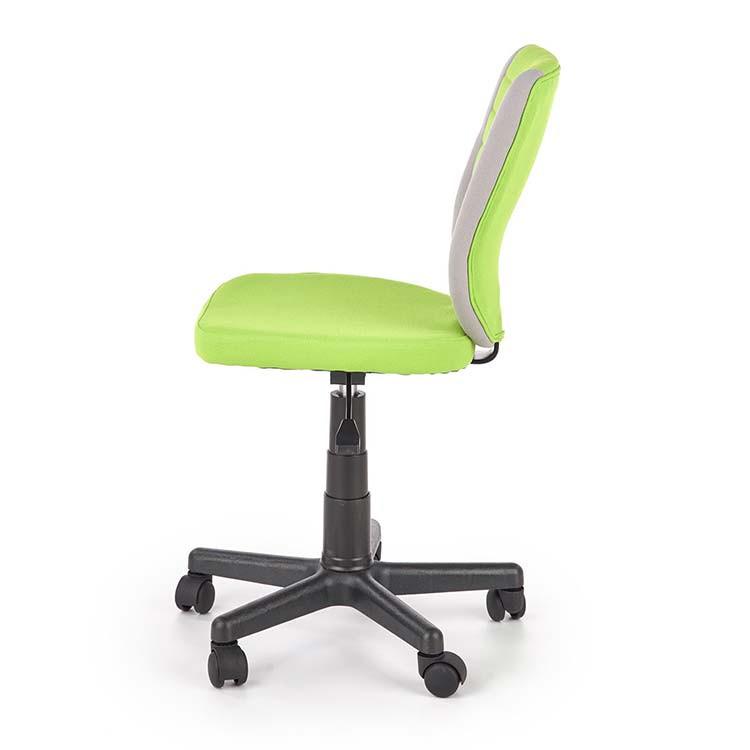 Sedia per scrivania ragazzi Dorian tessuto bicolore grigio ...