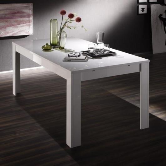 Tavolo Eos bianco lucido 180 cm