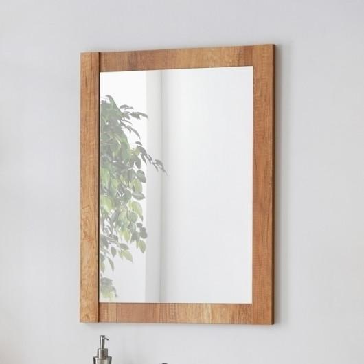 Specchio bagno Obari 60 quercia