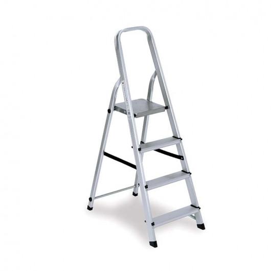 Scala alluminio 4 gradini
