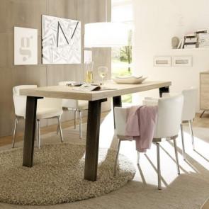 Tavolo legno gambe in ferro Palma 189