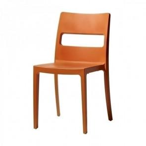 Sedia Sai arancio ignifugo Scab Design