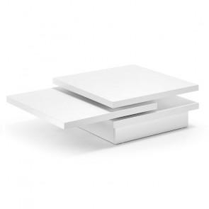 Tavolino girevole Kiu bianco