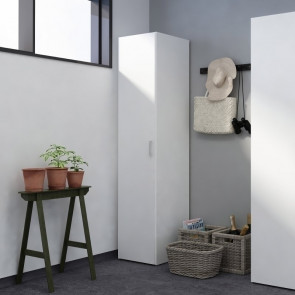 Armadio 1 anta Light Bianco Gihome ®