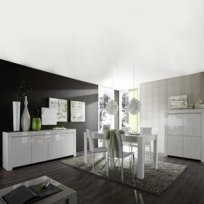 Soggiorno Amalfi 1 con tavolo allungabile 180 cm