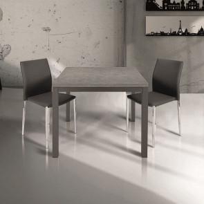 Tavolo allungabile Harry grigio quadrato