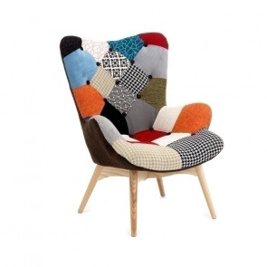 Poltrona Patchwork Norma
