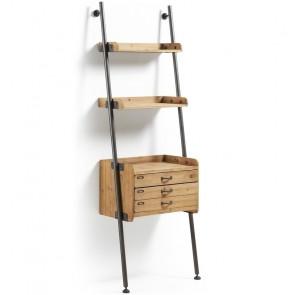 Libreria mobile con cassettiera Mobela
