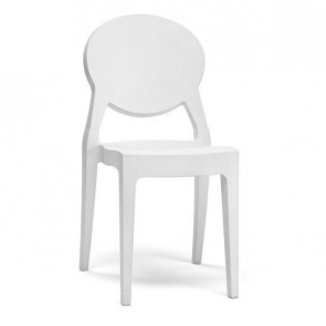 Sedia Igloo Chair Scab bianco pieno