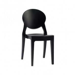 Sedia Igloo Chair Scab nero pieno