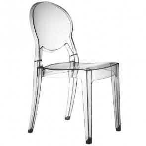 Sedia Igloo Chair Scab trasparente ignifugo