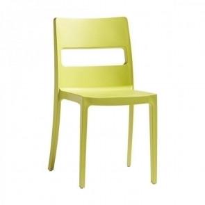 Sedia Sai giallo ignifugo Scab Design