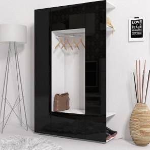 Mobile ingresso Pam bianco e nero lucido