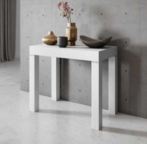 Tavolo consolle allungabile Pandora 90 Bianco frassinato Gihome®