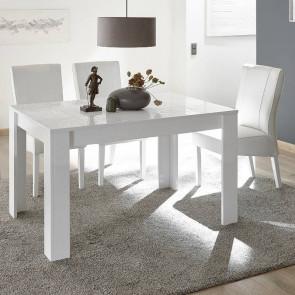 Tavolo legno Miro bianco 180 con allungo