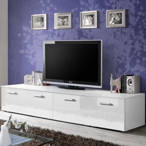 Mobile TV Bristol bianco opaco e lucido