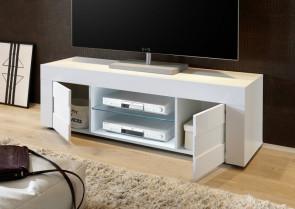 Mobile TV moderno Easy piccolo bianco