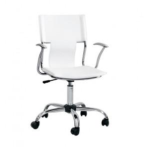 Sedia ufficio Riley bianco