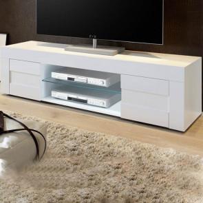 Mobile TV moderno Easy grande bianco