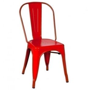 Sedia Metallo Tolix Rosso