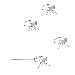 Impianto luce led Line Compact