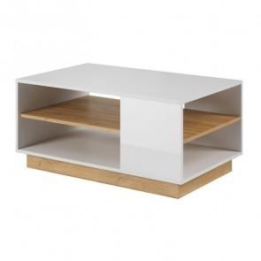 Tavolino soggiorno Noa Gihome ® bianco