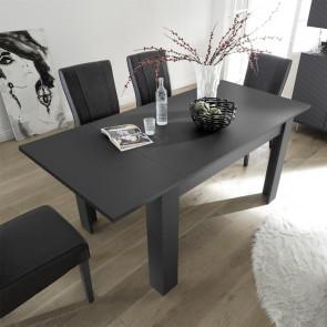 Tavolo allungabile grigio gessato