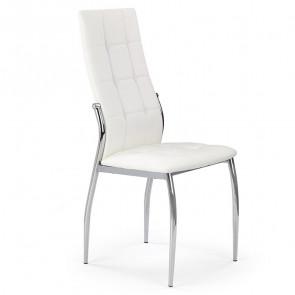 Sedia in ecopelle Sveva Gihome ® bianco