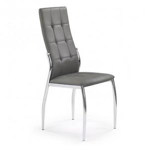 Sedia in ecopelle Sveva Gihome ® grigio