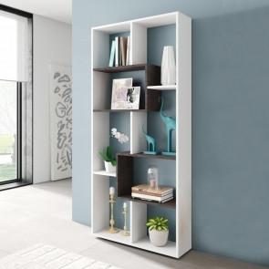Libreria multiposizione bianco opaco ossido
