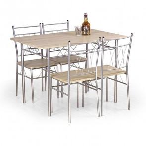 Set tavolo e 4 sedie Kronos