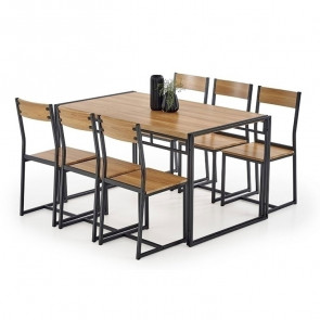 Set tavolo e 6 sedie Zamora
