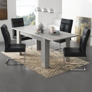 Tavolo allungabile Bob cemento
