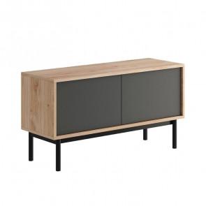 Porta tv Avola 2 ante legno grafite