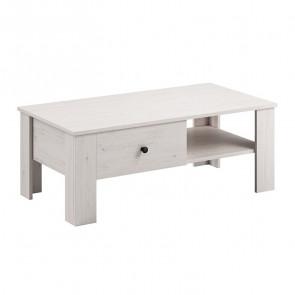 Tavolino Salemi pino bianco