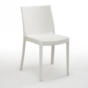 Sedia Olbia bianco