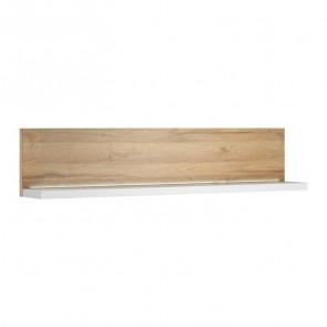 Mensola per parete attrezzata Megan Gihome ® bianco rovere