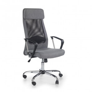 Sedia da ufficio design Freemont tessuto grigio
