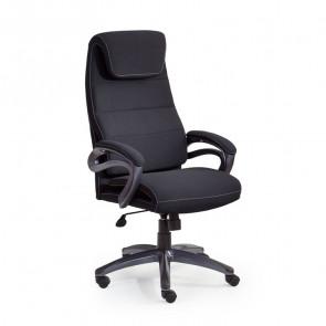 Sedia da ufficio design Evolution tessuto nero