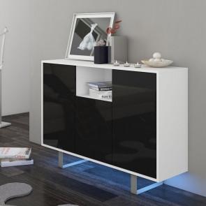 Madia Lana Gihome ® bianco nero lucido