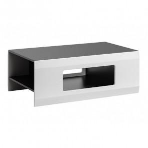 Tavolino Sting grafite bianco opaco